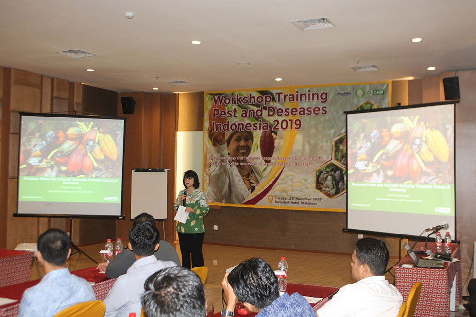 Cocoa Pest and Disease Workshop Indonesia