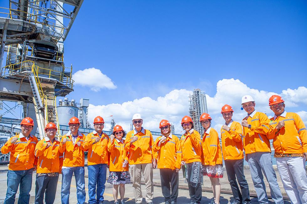 Bersama Kemenko Bidang Perekonomian, Cocoa Sustainability Partnership Mengunjungi Pabrik PT. Pupuk Kaltim di Bontang