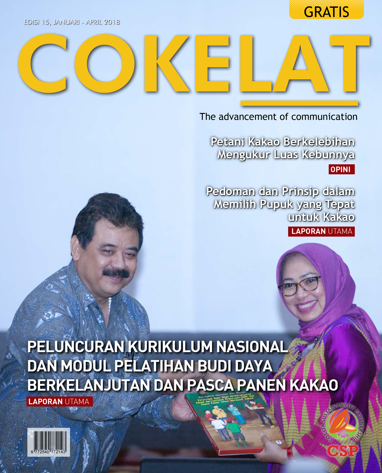 COKELAT Magazine: Vol. 15/January - April 2018