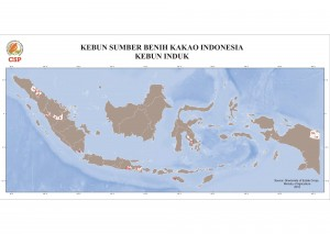 Cacao Seed Sources in Indonesia: Seed Garden