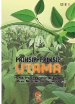 General Principles of Good Agriculture Practices for Sustainable Indonesian Cocoa